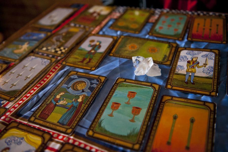 7 Tarot Readers Who Are Shaping Brooklyn's Alternative ... Golden Tarot Liz Dean