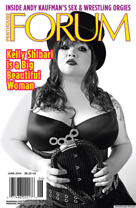 Penthouse Forum Features First Ever Plus Size Model June Cover