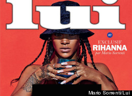 RiRi Annoyed With Instagram After Topless Pics Ban