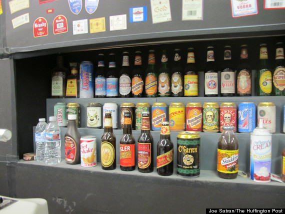 beer display iss