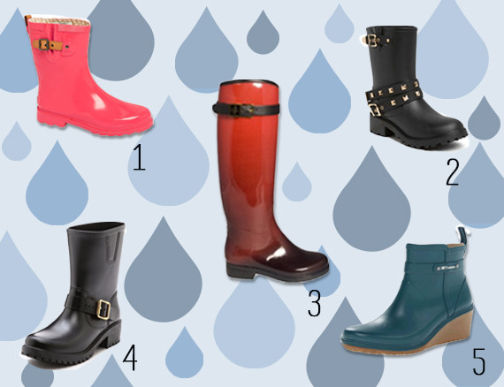 Best Stylish Rain Boots: Wade In The Puddles With These Awesome ...