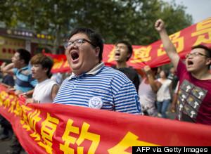 diaoyu protest