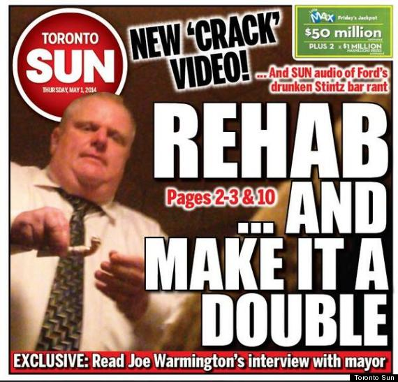 rob ford cover