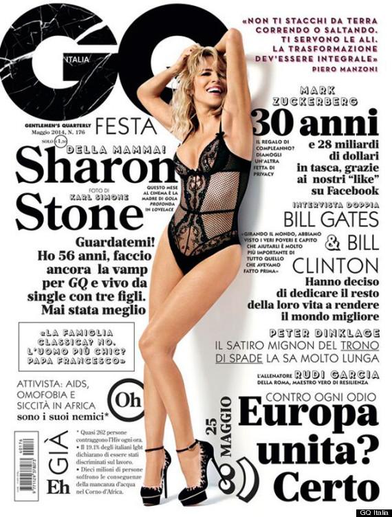 sharon stone lingerie