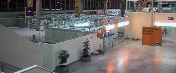 MIRABEL AIRPORT DEMOLISHED