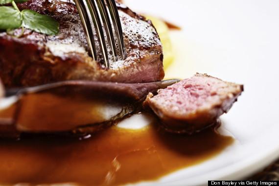 cut steak