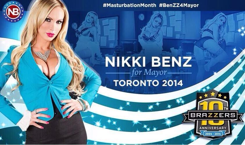 nikki benz mayor