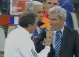 Raymond Domenech Shake Hand Video