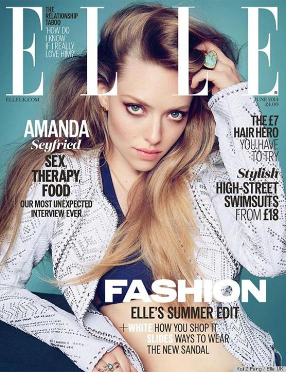 amanda elle uk cover