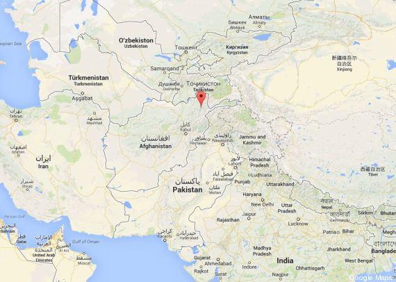 glissement de terrain afghanistan