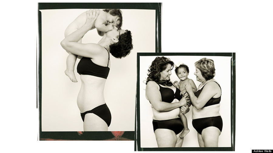 photos of womens bodies in 4th trimester