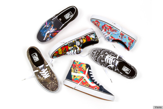 vans x star wars collage