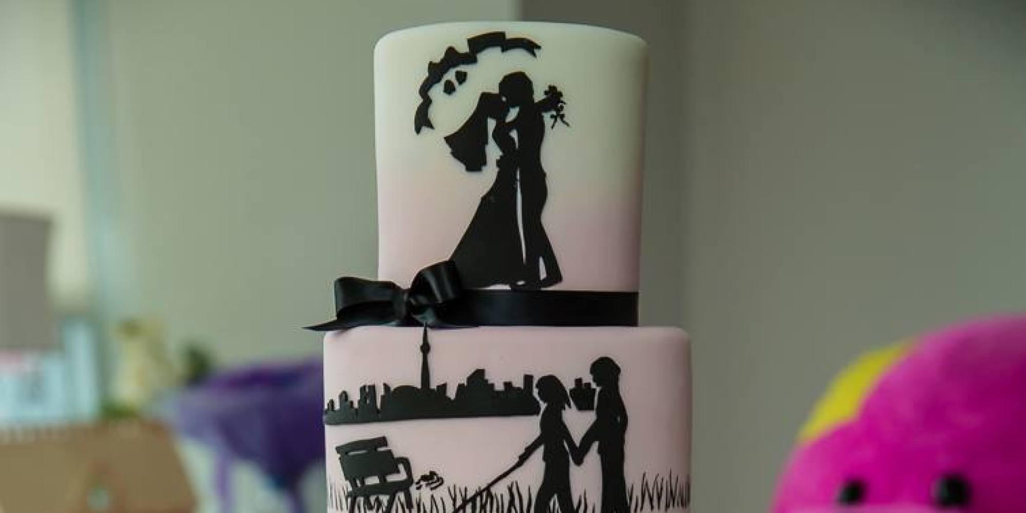 The Most Baffling Wedding Cake Ever Just Got A Beautiful