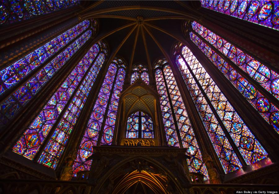 Le Sainte Chapelle Paris Stained Glass