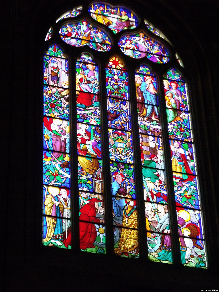 aix cathedral window
