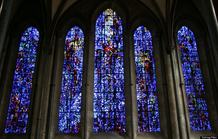 Salisbury Cathedral Stained Glass Window