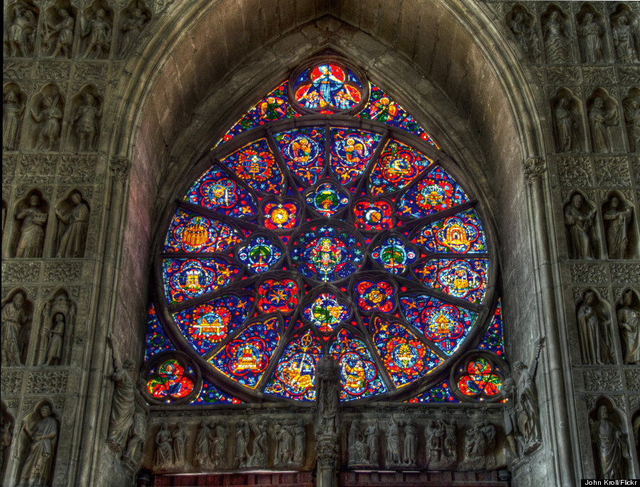 reims cathedral window