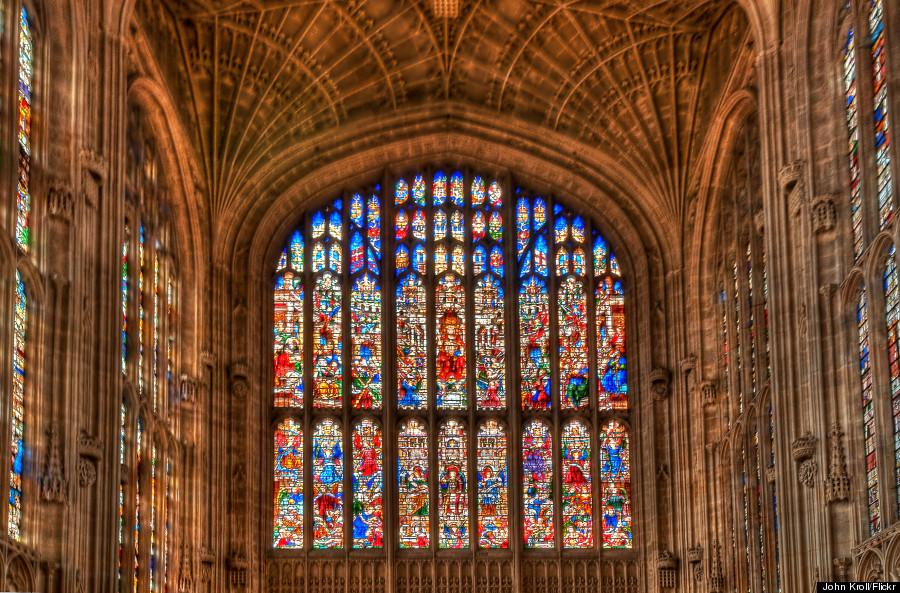 kings chapel cambridge window