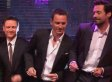 Here's Michael Fassbender, Hugh Jackman & James McAvoy Dancing To 'Blurred Lines'