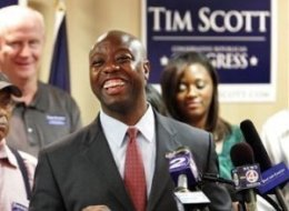 Tim Scott Beats Paul Thurmond