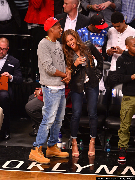 Beyonce And Jay Z Have A Date Night At Brooklyn Nets Game ...