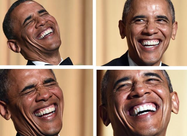 Le meilleur et le pire des blagues de barack obama aux for Au coeur de la maison blanche barack obama