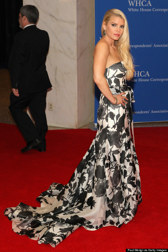 Jessica Simpson And Eric Johnson Attend The White House ...