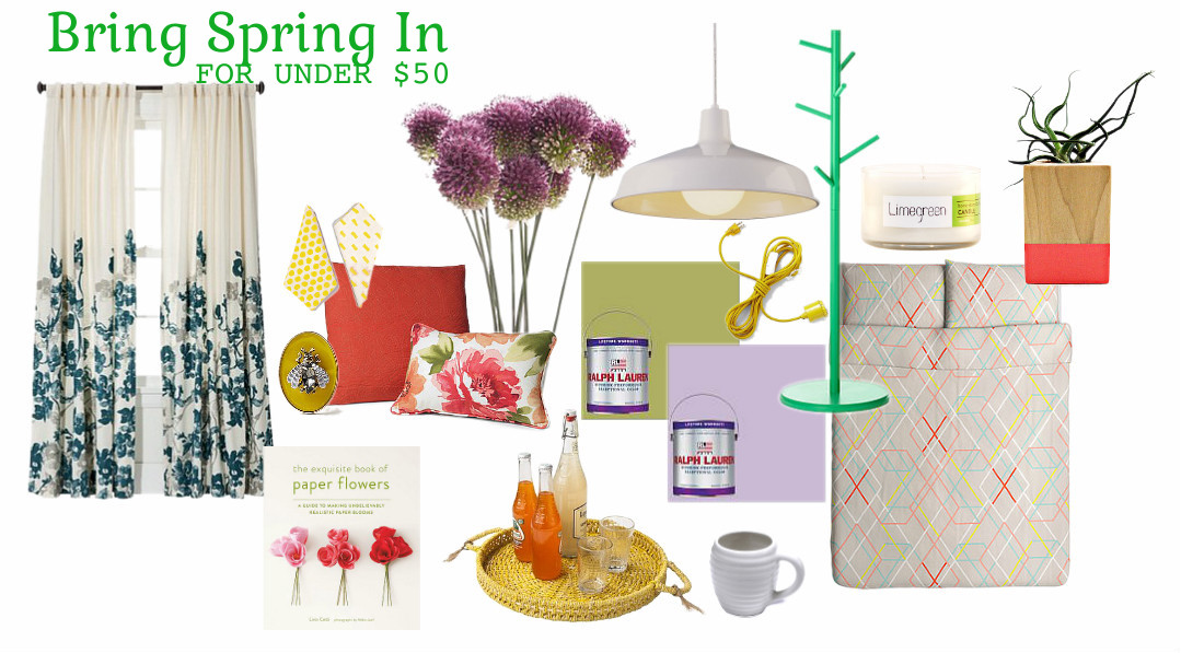 bring spring in