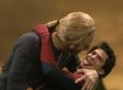 Chris Martin Gives Andrew Garfield A Lesson In French Kissing On 'SNL'