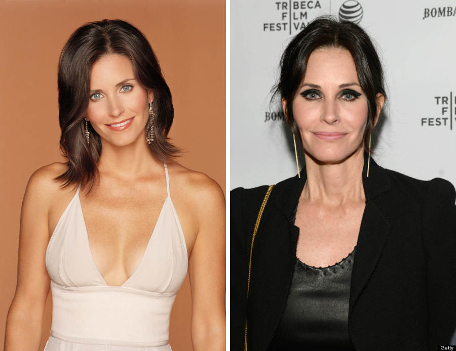 courteney cox split