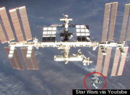 WATCH: Space Agency Celebrates Sci-Fi Classic