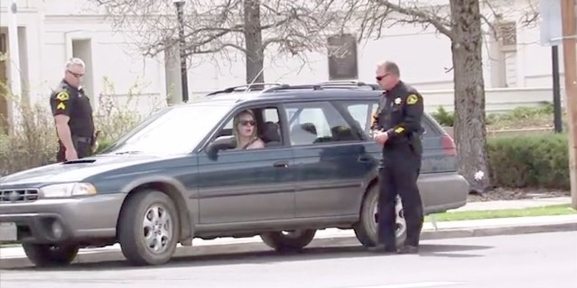 Angry People Getting Pulled Over By Cops : California cops are pulling people over for the best