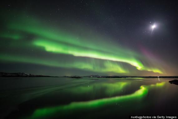 northern lights thingvellir