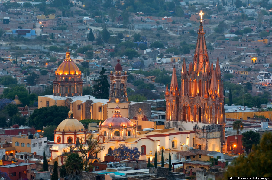 Cinco Colonial Cities In Mexico That You Didn 39 T Know Existed Huffpost