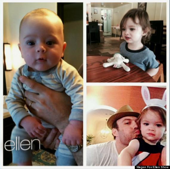Fox N Sons Megan Fox Shares Baby ...