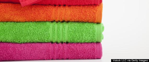 towels laundry