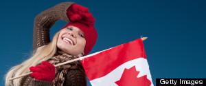 CANADA FLAG SMILE