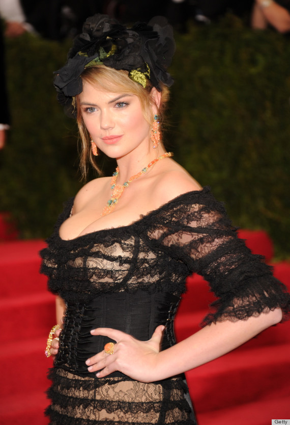 Kate Upton Goes To The Dark Side For The 2014 Met Gala