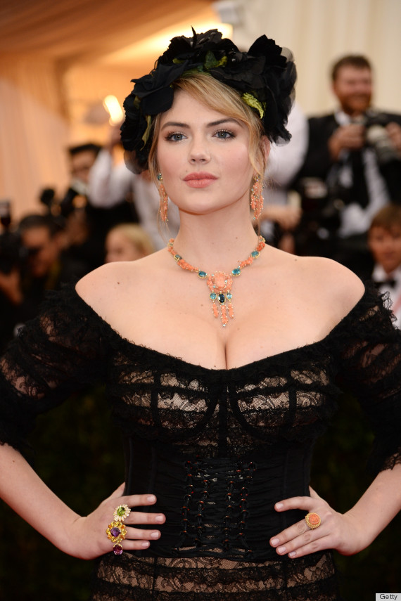 Kate Upton Goes To The Dark Side For The 2014 Met Gala -8160
