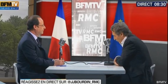hollande bfm tv