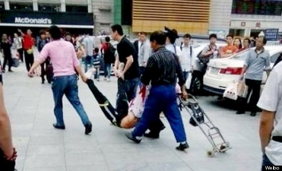 china knife attack
