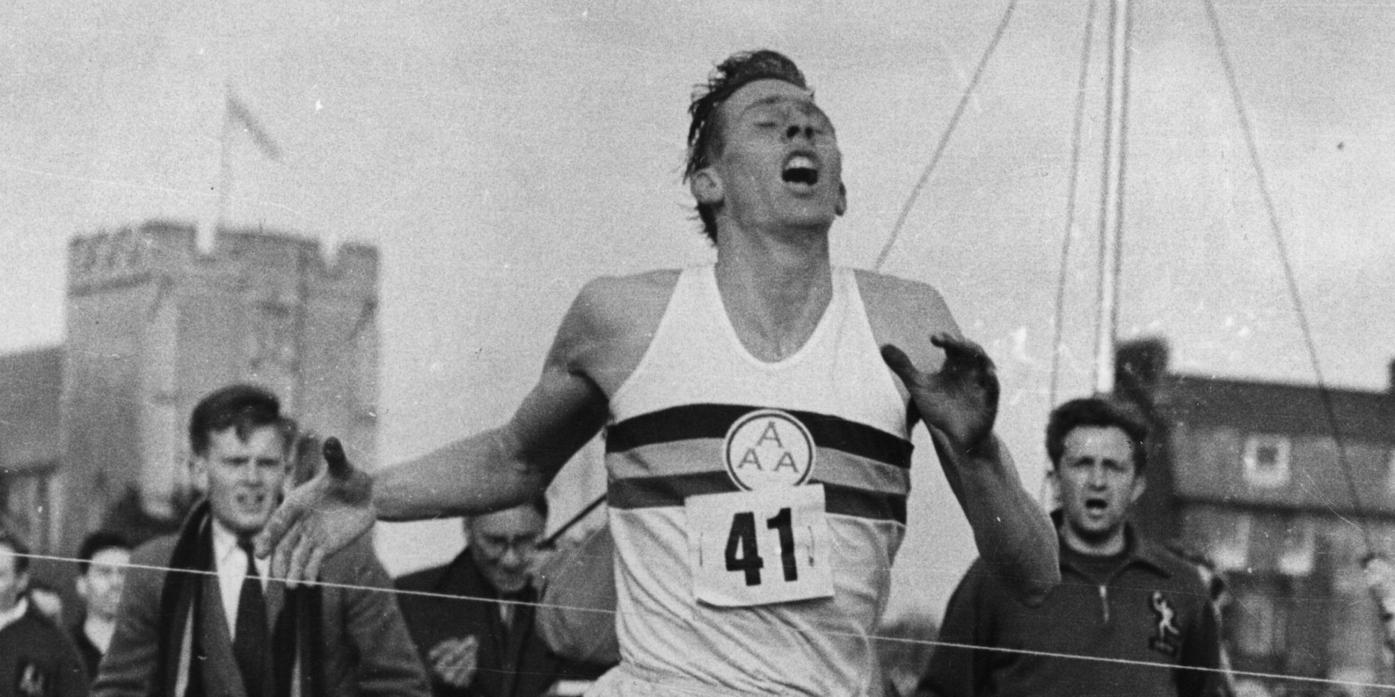 Roger Bannister S Four Minute Mile 60 Years On Video border=