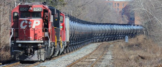 OIL BY RAIL CANADA