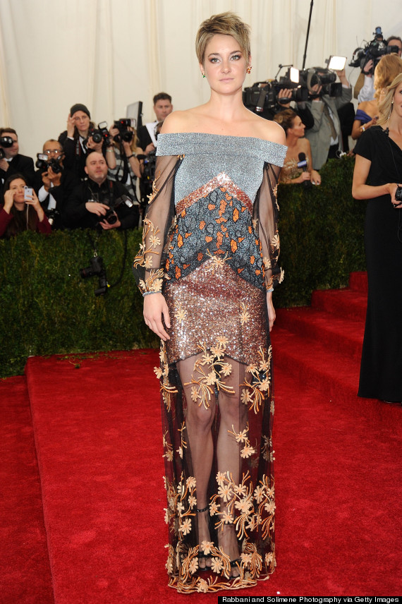 Shailene Woodley Makes Bold Choice With Rodarte Gown At
