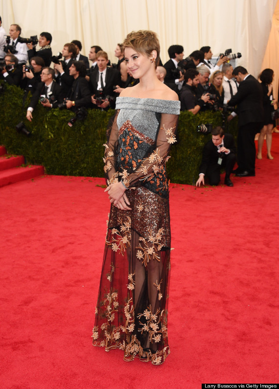 Shailene Woodley Makes Bold Choice With Rodarte Gown At 2014 Met ...