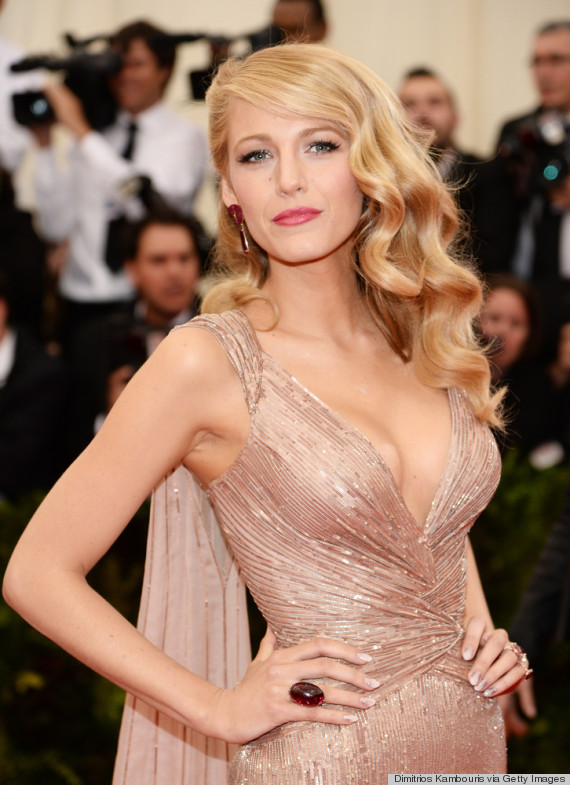 blake lively red dress makeup - photo #9