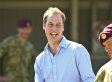 Prince William Flies Economy Class, Orders A Water