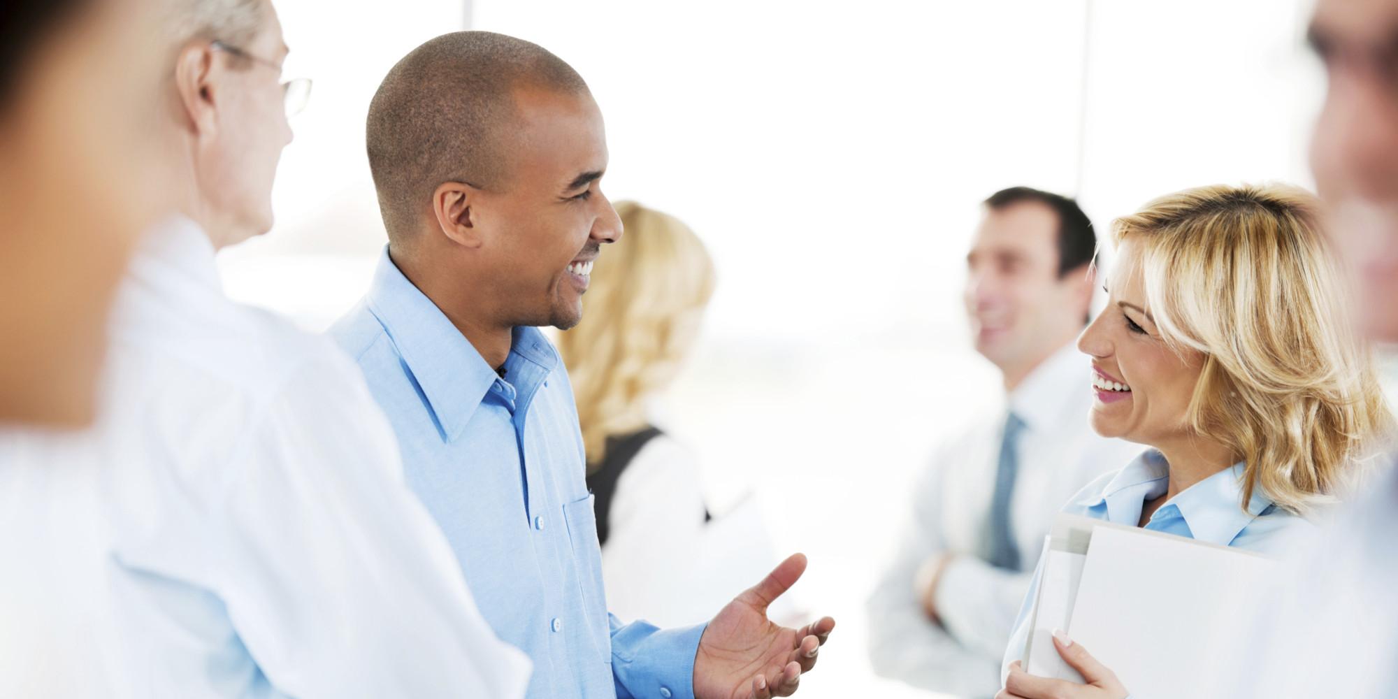 Conversation tips - Business Insider |Group Talking