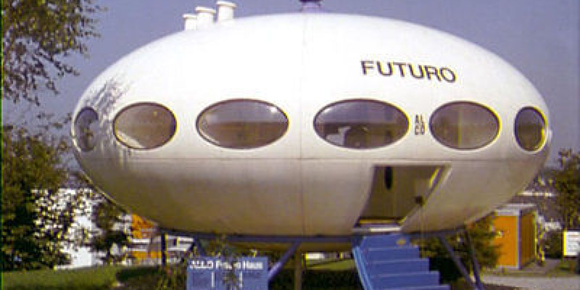 Rare futuro home pops up on ebay fulfilling your dream to live in an old star wars ride photos huffpost