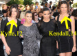 Kylie & Kendall Jenner, Kardashian Sisters, Pose At 'Eclipse' Premiere (PHOTO)